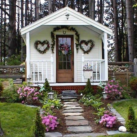 This 10 39 X16 39 Post And Beam Prefab Cottage Can Serve As A