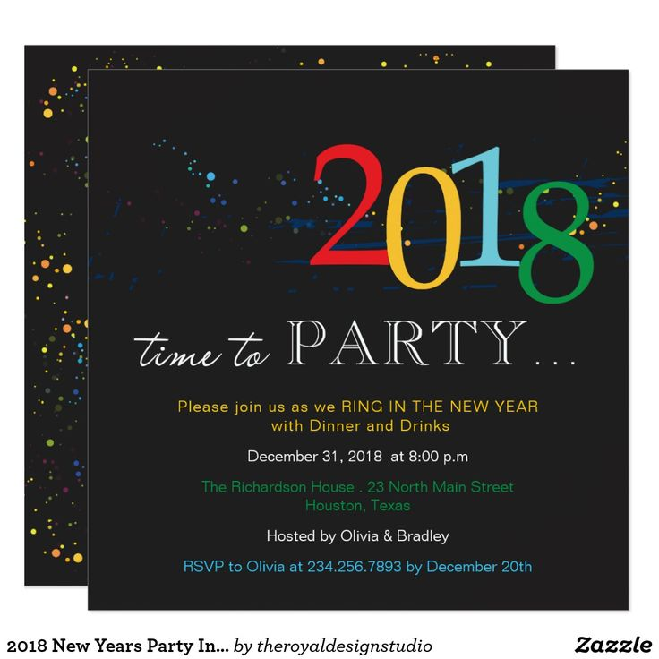 54 best New Years Eve Party Invitations images on Pinterest   New ...