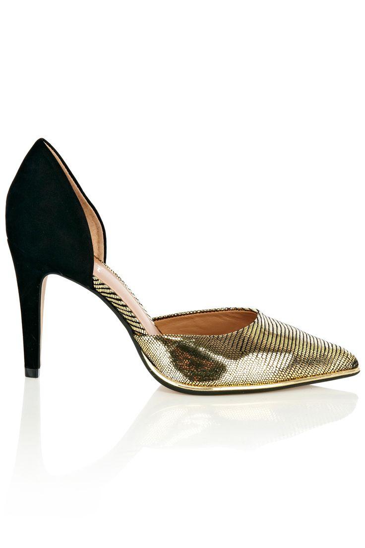 METALLIC TREND - Celita Shoes, £65, Coast http://www.coast-stores.com/