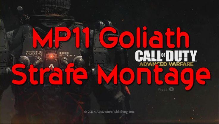 Advanced Warfare | MP11 (Goliath) Strafe Montage | KnottyKnockers