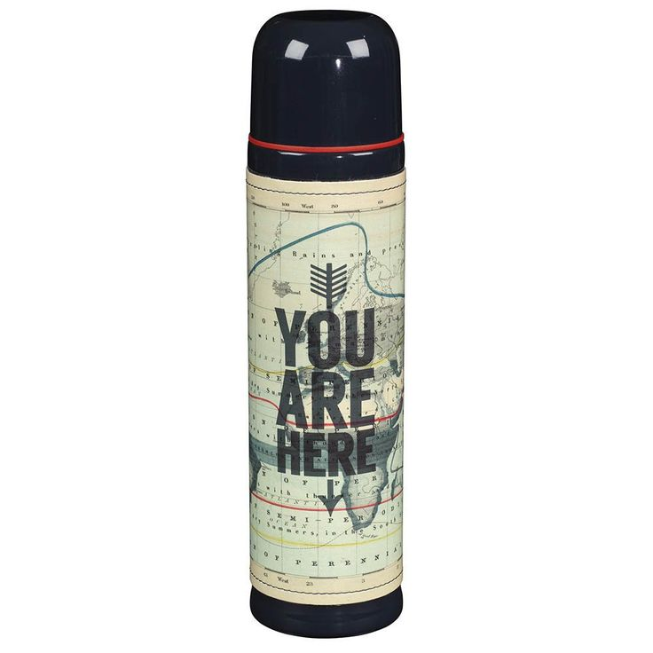 This thermos is the perfect travel buddy to keep your drink warm and your mornings better! #thermos #travel #shopcuriously