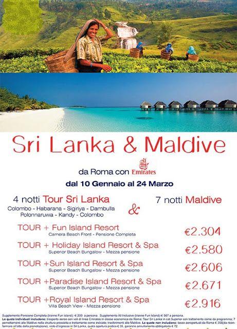 JLAND TRAVEL: IDEE DI VIAGGIO E DI NOZZE:TOUR SRI LANKA E MALDIV...