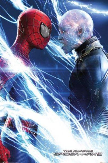 Niesamowity Spiderman 2 Spider-man kontra Elektro - plakat