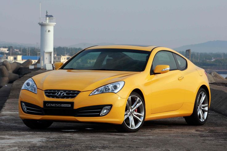 Hyundai Genesis....from what I heard from my sister, this is the cheapest sports car there is.