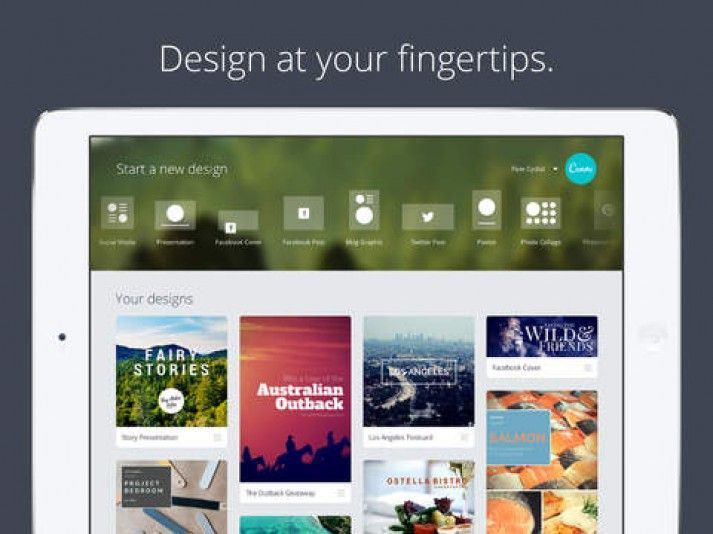 Canva - Húzd és vidd grafikus alkalmazás már iPad-en is | Meneruwa Design