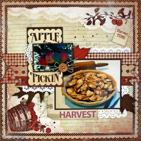 97 best food recipe scrapbook layouts images on pinterest fall scrapbooking layout ideas for my family recipe scrapbook pronofoot35fo Image collections