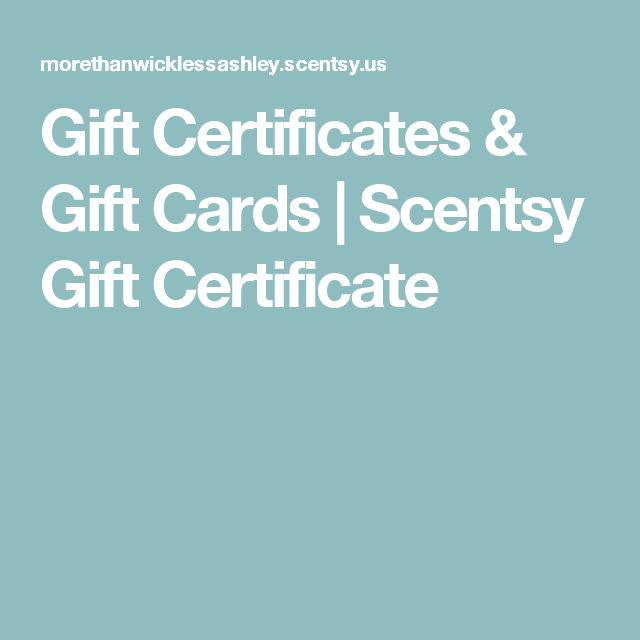 The 25+ best Gift certificates ideas on Pinterest | Gift ...