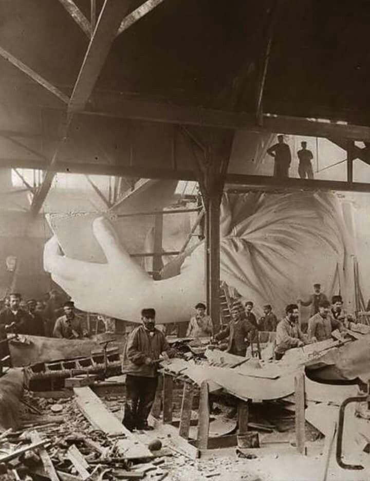 Statue of Liberty 1884
