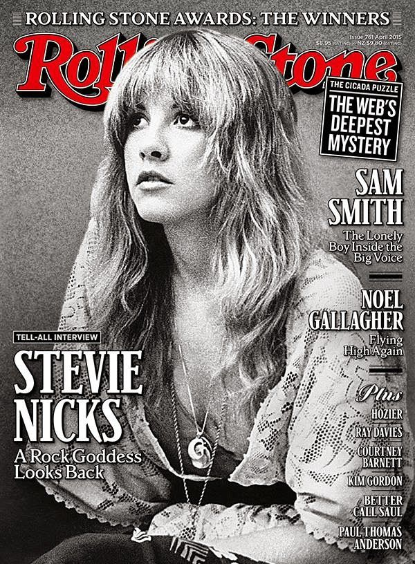 """FLEETWOOD MAC NEWS: Stevie Nicks on the cover of April's Rolling Stone Australia """"Tell All Interview"""""""