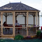 Found it at Wayfair - Monterey Screen 10 Ft. W x 14 Ft. D Cedar Gazebo Kit