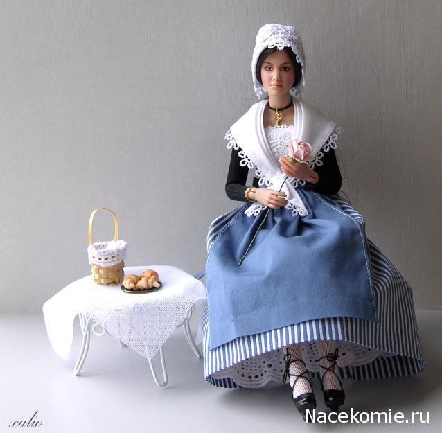 Куклы в Костюмах Народов Мира №2 - Франция (Прованс)
