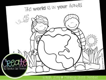 This free Earth Day coloring sheet will add a little fun to your Earth Day activities. Enjoy!!Get the news on the latest sets & release dateshttps://www.facebook.com/CreativeArtTeacher