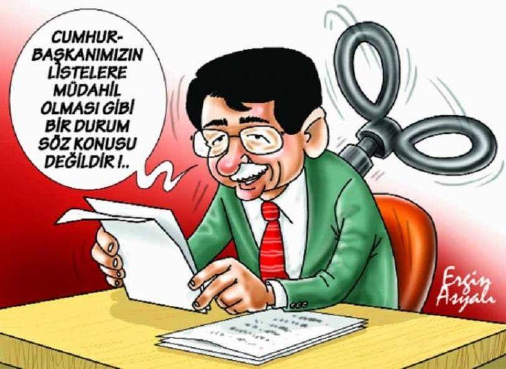 Siyasi Karikatürler: Ergin Asyalı