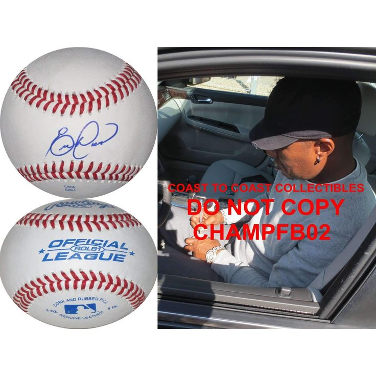 Eric Davis, Cincinnati Reds, Los Angeles Dodgers, Cardinals, Tigers, Orioles , Giants, Signed, Autographed, Baseball, a COA and Proof Photo of Eric Signing the Baseball Will Be Included