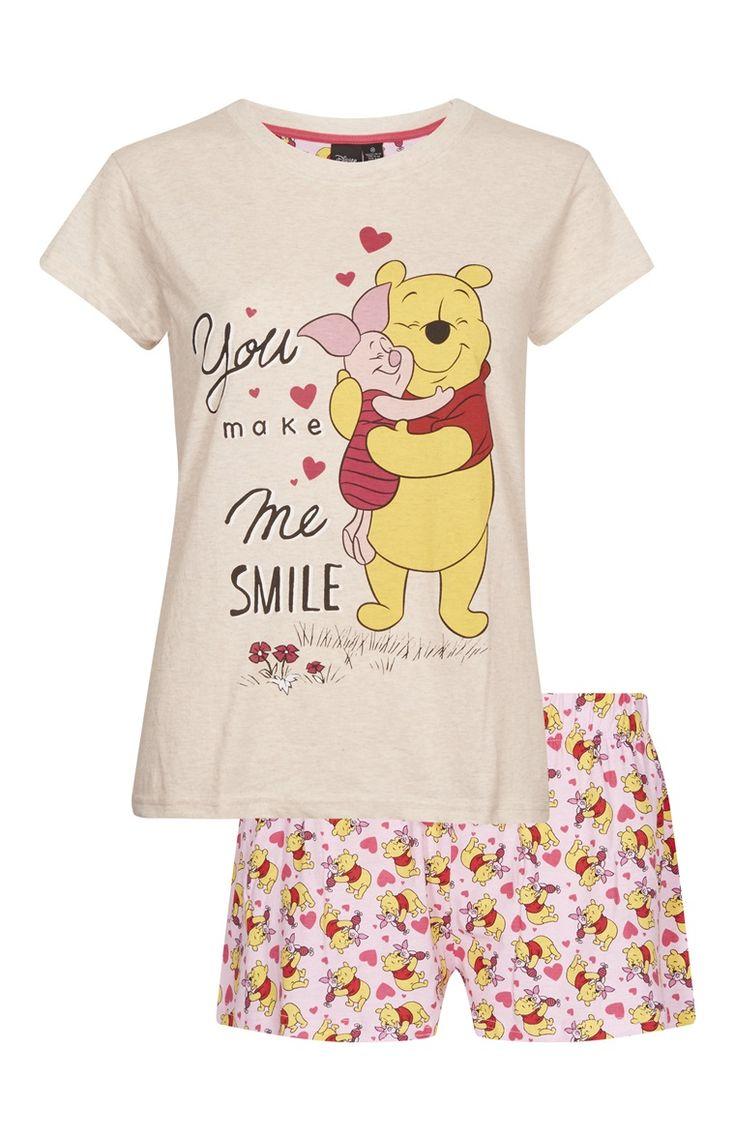 Primark - Pijama corto de Winnie The Pooh