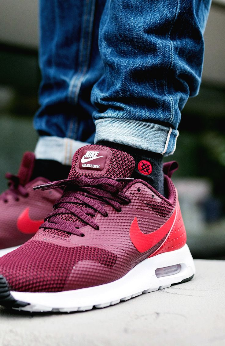 Nike Air Max Tavas Night Maroon #sneakernews #Sneakers #StreetStyle #Kicks