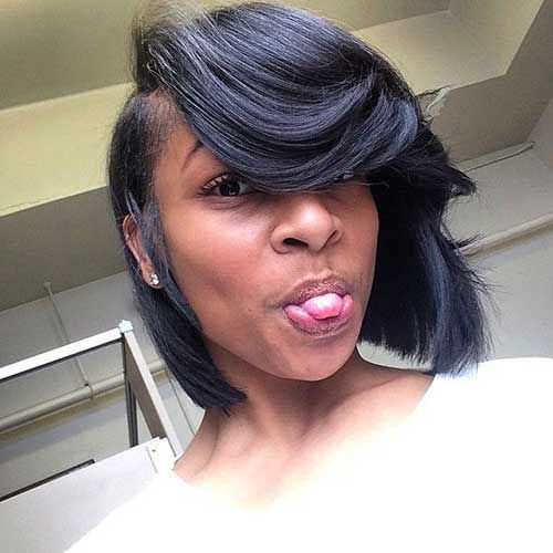awesome 10 Short Bobs Hairstyles for Black Women