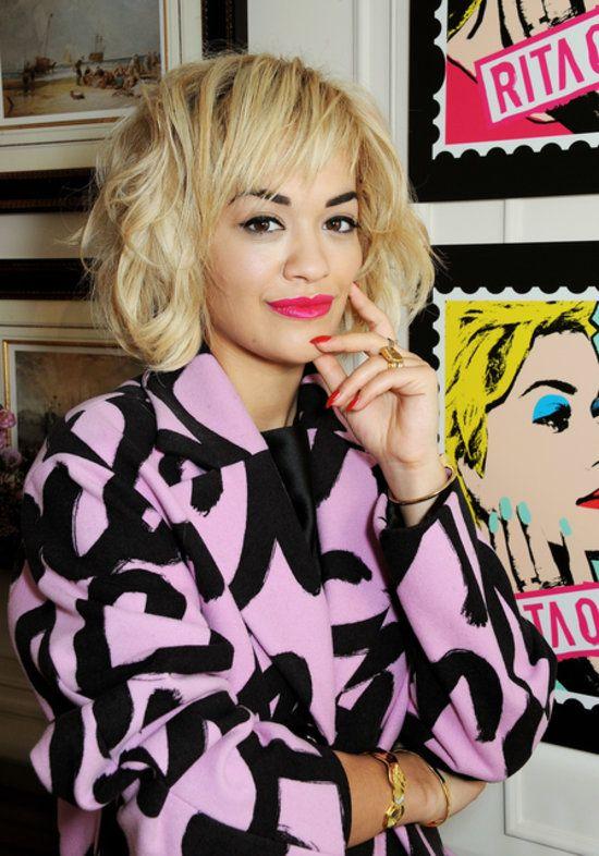 Georgia's Curls, Emma's Platinum Locks, and More Looks We Loved This Week. Rita Ora