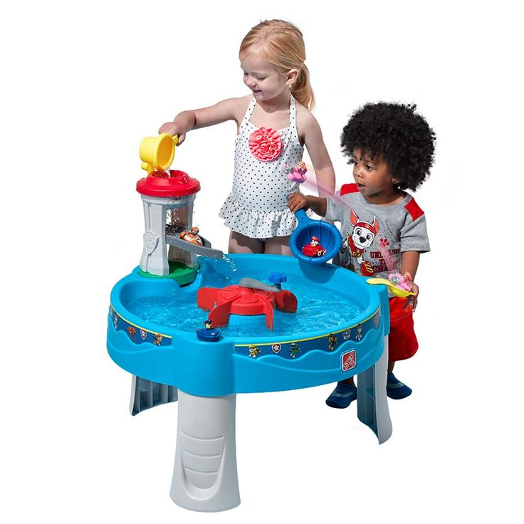 Step2 Paw Patrol Water Table, Multicolor
