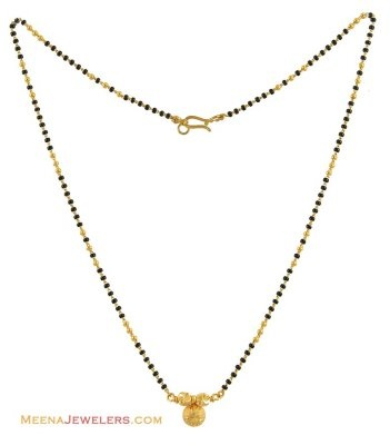 mangalsutra - i like the chain, not the pendant