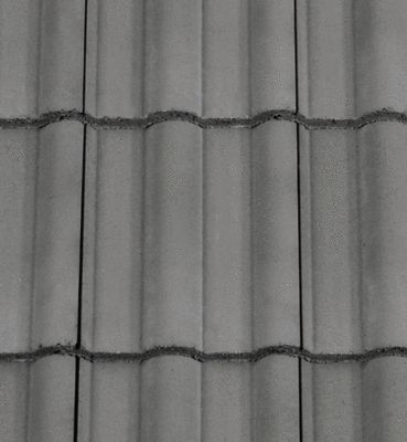 Redland 50 Double Roman Roof Tiles . Slate Grey colour. classic double roman design.