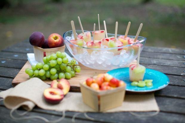 Homemade Fruit Popsicles Food Network