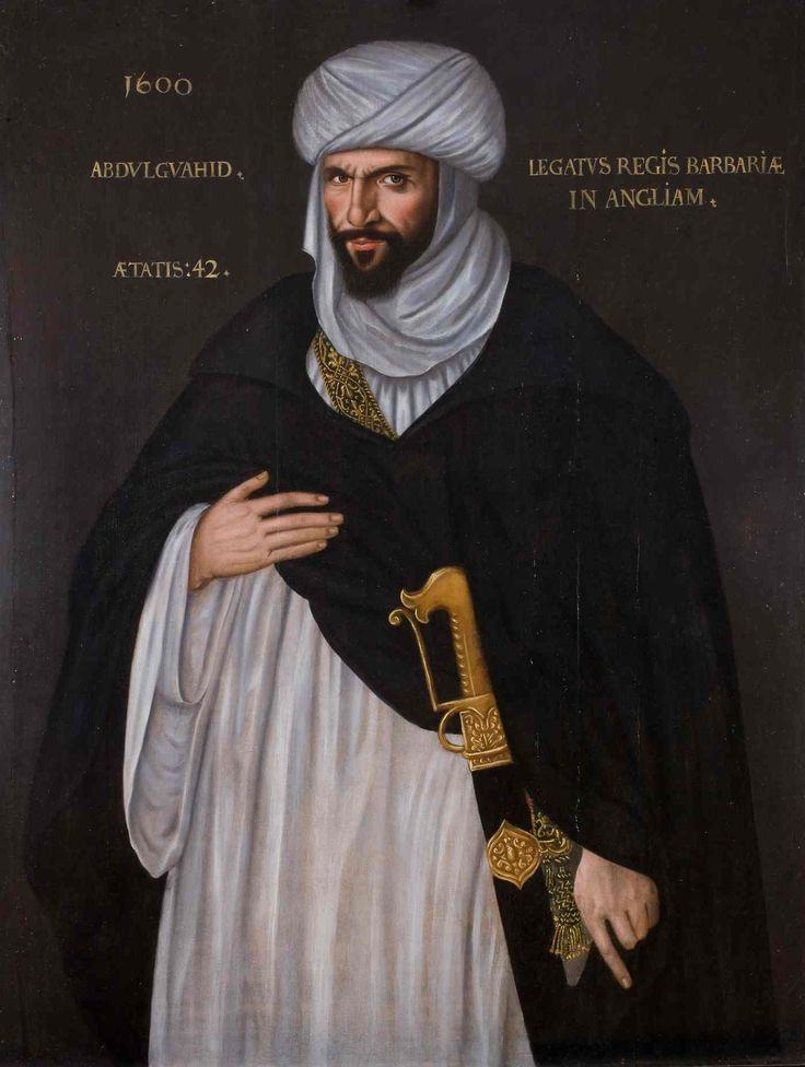 The 1600 portrait of Al-Annuri: Is this the real model for Othello? The Moroccan ambassador to Elizabethan London has striking similarities to Shakespeare's noble Moor