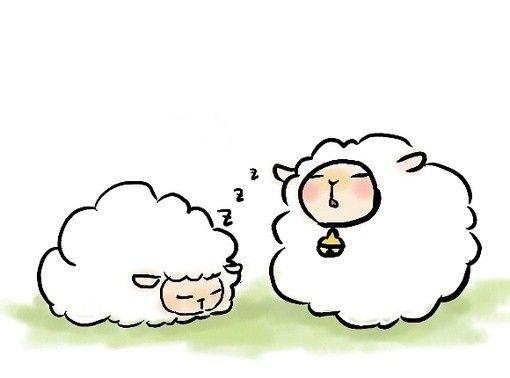 10.4、KeyKey、天然呆、廭、动物、绘画, Sheep illustration, cute sheep, art, design, sketch,