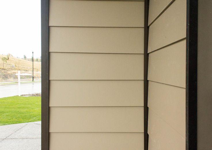 Close Up Of Allura Fiber Cement Siding Architecture