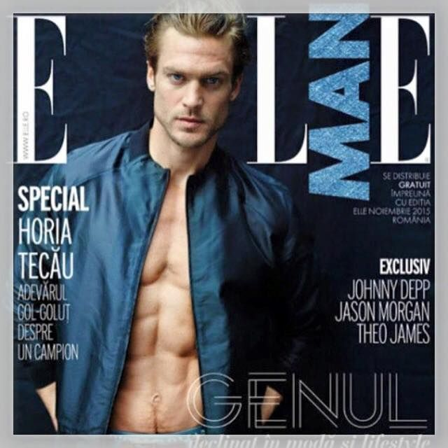 Jason Morgan #ellemagazine #elleman shoot by Riccardo Tinelli makeupartist Gaelle March