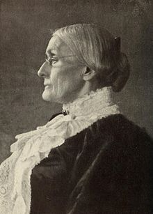 """June 18, 1873: Susan B. Anthony fined for voting. Five years earlier, the US adopted the 14th Amendment, which gave full citizenship rights to """"all persons born or naturalized in the United States, and subject to the jurisdiction thereof."""" Anthony took it at its word, and voted in the national election. She and 14 other female voters were arrested, along with the officials who allowed them to vote. Anthony was fined $100 plus the cost of the trial. She never paid the fine."""