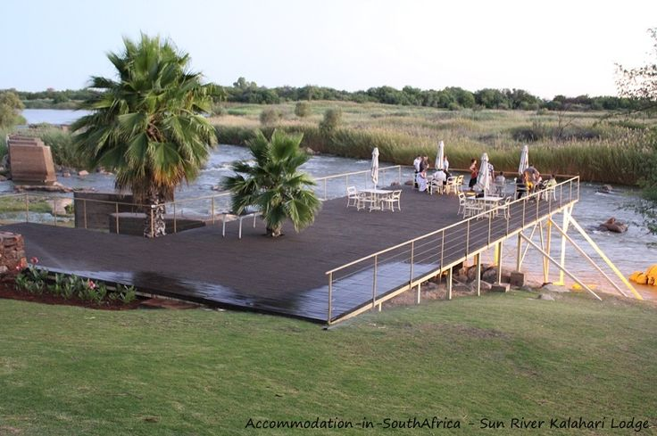 Relax at Sun River Kalahari Lodge on the banks of the Orange River. http://www.accommodation-in-southafrica.co.za/NorthernCape/Upington/SunRiverKalahariLodge.aspx