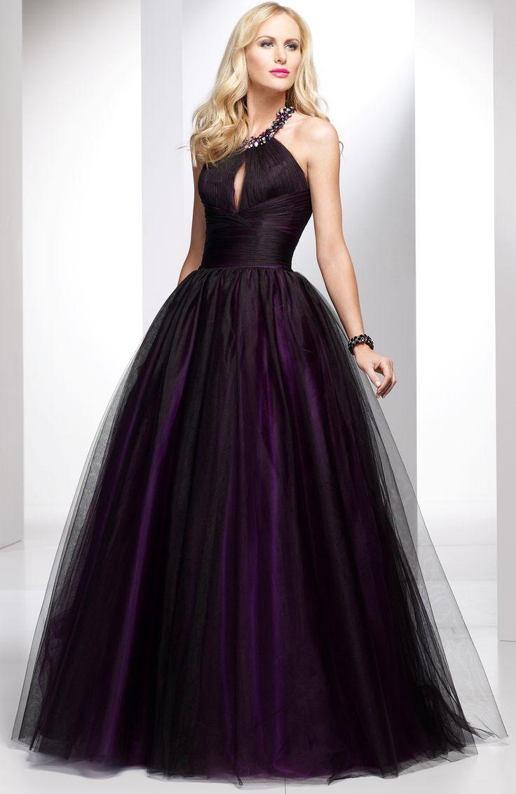 25  best ideas about Dark purple prom dresses on Pinterest | Long ...