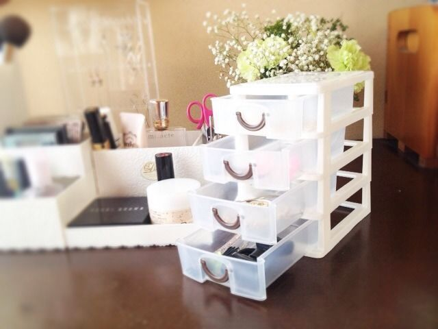 Japan Kawaii Multipurpose Box Drawers For Cosmetic Makeup