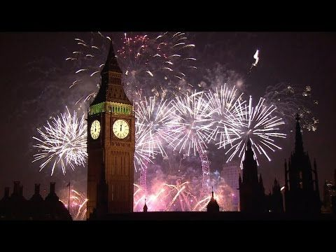 Treat yourself and watch these fabulous fireworks full screen - Happy New Year from Anglotopia! Here's the London New Year's Fireworks from the BBC - Anglotopia.net