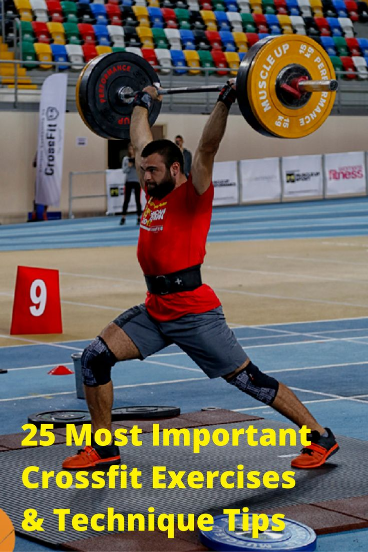 Technique Tips for the 25 Most Important Crossfit Exercises