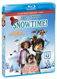 Coming to DVD from SHOUT! Factory and director Jean-Francois Pouliot is an animated film for the whole family to enjoy when it comes to SNOWTIME! http://moviemaven.homestead.com/For-family-and-kids.html