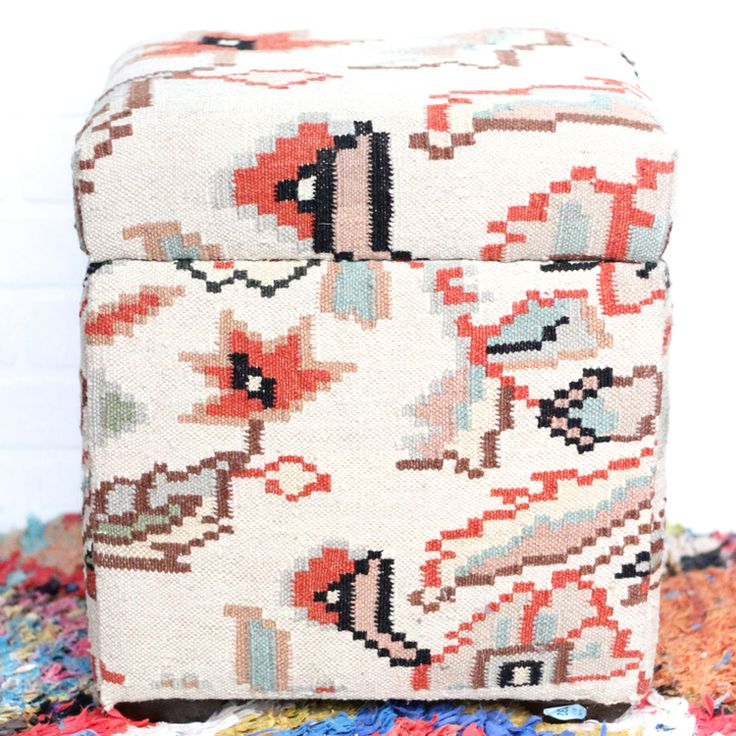 vintage kilim ottoman storage chest leftcoastrevivals left coast revivals.1.jpg