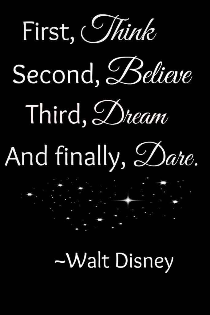Disney Believe Quote                                                                                                                                                     More