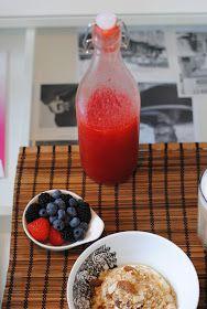 Anne's hyggested: Hjemmelavet jordbær sirup