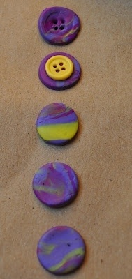 Love all these polymer clay ideas! Make your own buttons