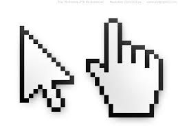 psd mouse cursor and hand pointer icons - Halloween Tumblr Cursors