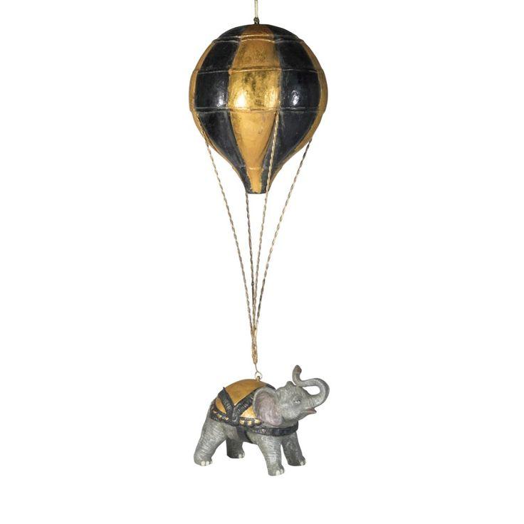 Luftballong med elefant