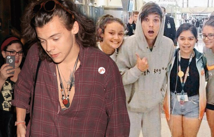 ''HARRY STYLES AND LOUIS TOMLINSON ARRIVE AT LAX AIRPORT AHEAD OF ONE DIRECTION'S ON THE ROAD AGAIN TOUR'' http://www.sugarscape.com/lads/news/a1074829/harry-styles-louis-tomlinson-lax/