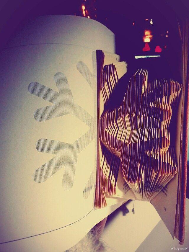 Book folding- čoskoro dalšia kniha hotová :)