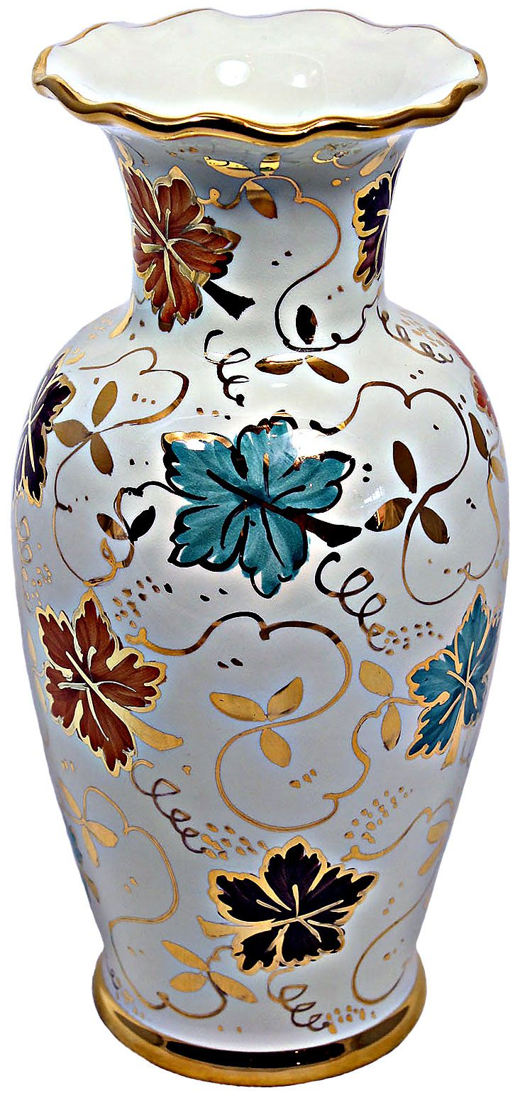 ceramic-majolica-vase-autumn-gold-leaves-25cm-01