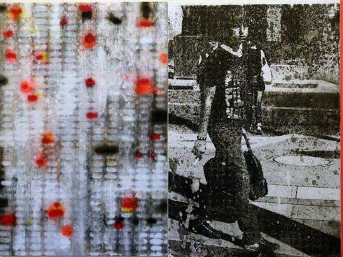 Robert Boynes, 'Terminus' 2013, acrylic on canvas - diptych, 120 x 160cm
