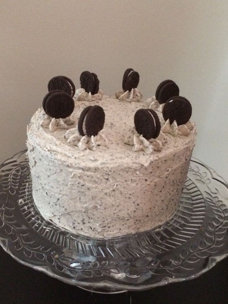 Showstopper Coffee Oreo Cakes