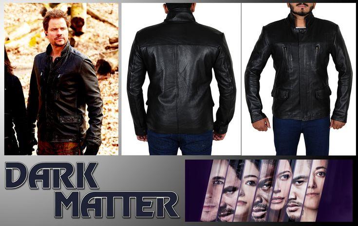 Anthony Lemke TV Series Dark Matter Leather Jacket