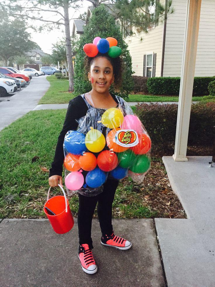DIY Halloween Costume  Bag of Jelly Beans